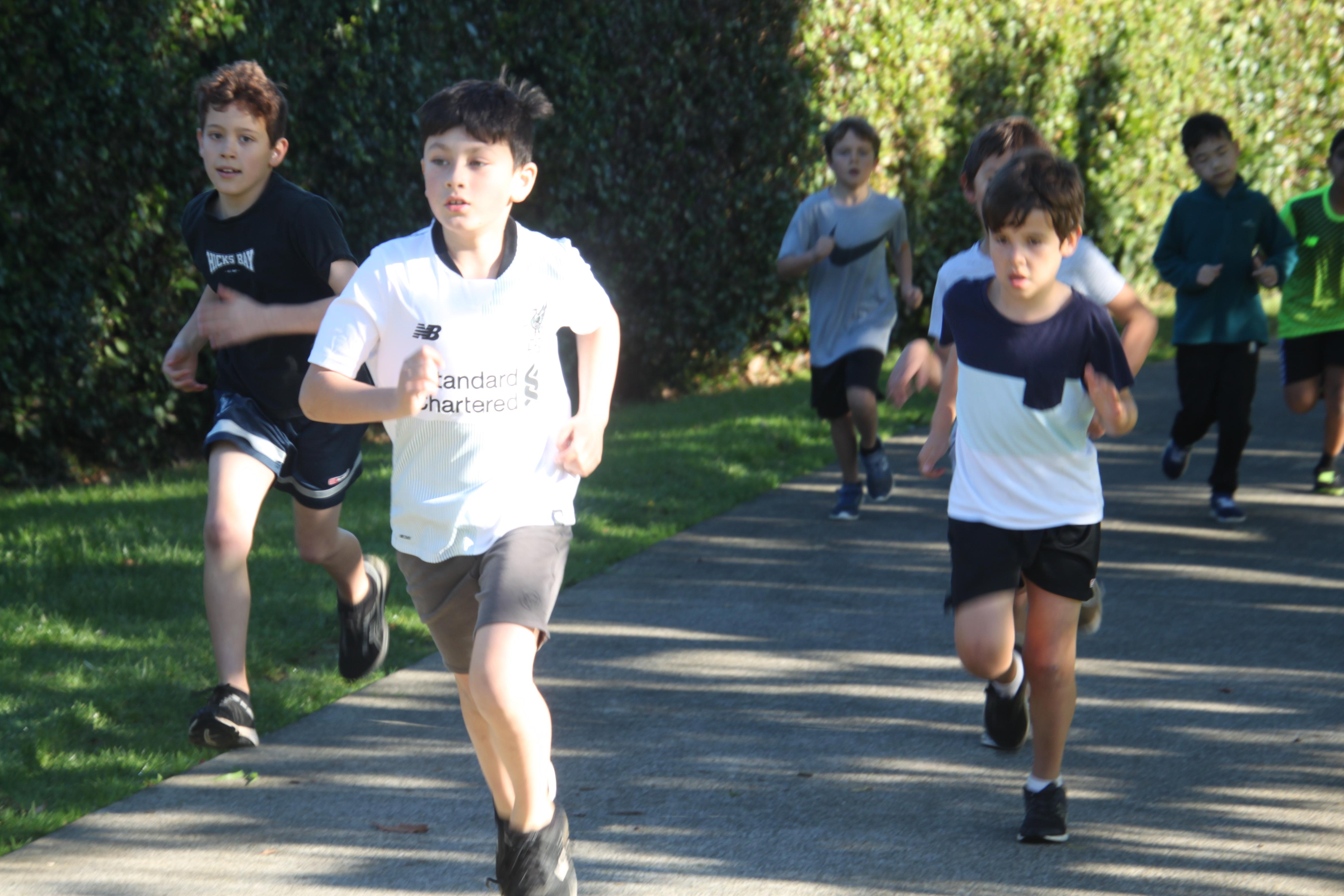Year 4 challenge 4 Boys 2
