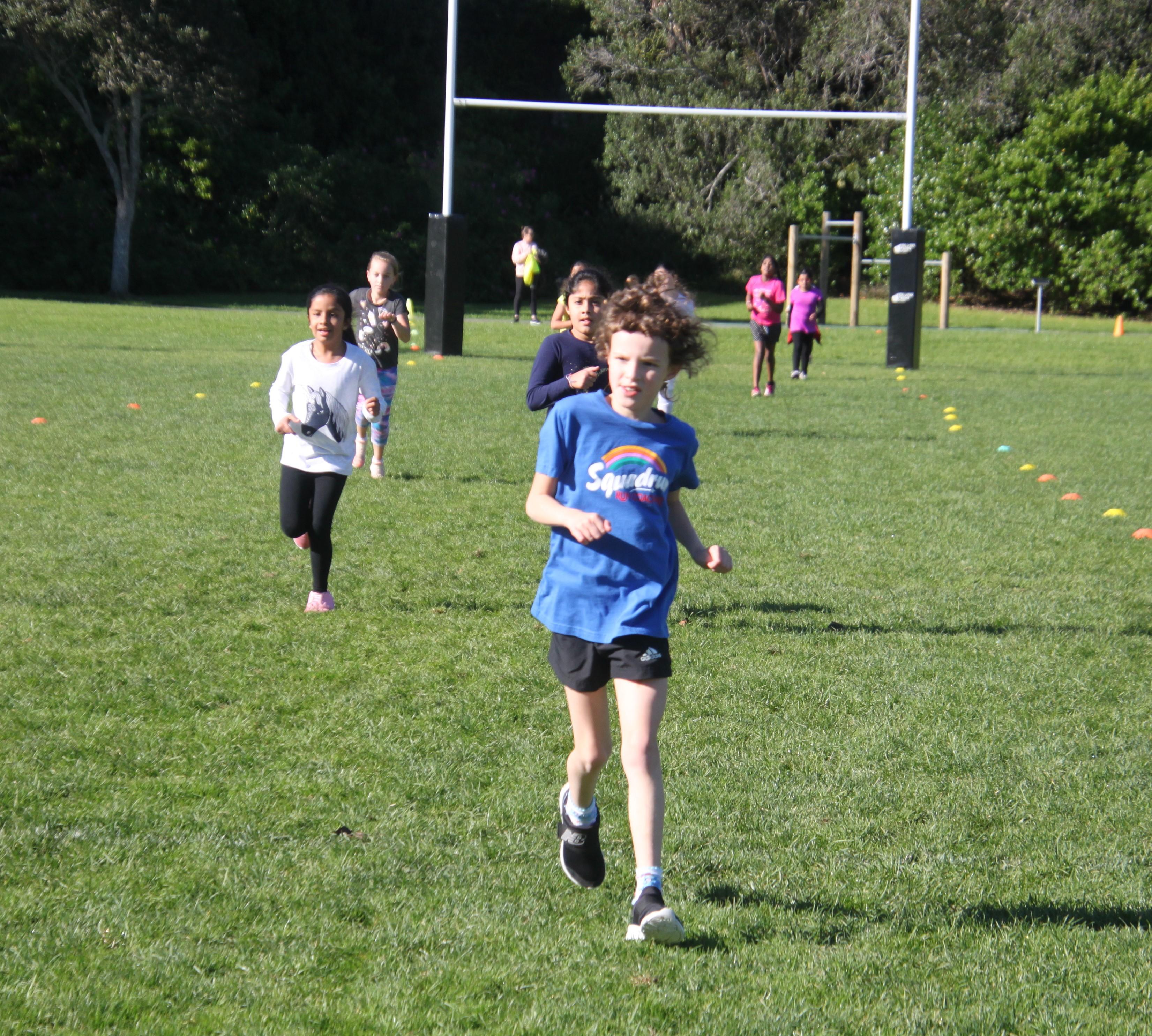 Girls Challenge races 5