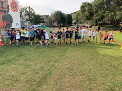 Year 5 Boys Challenge 4 race