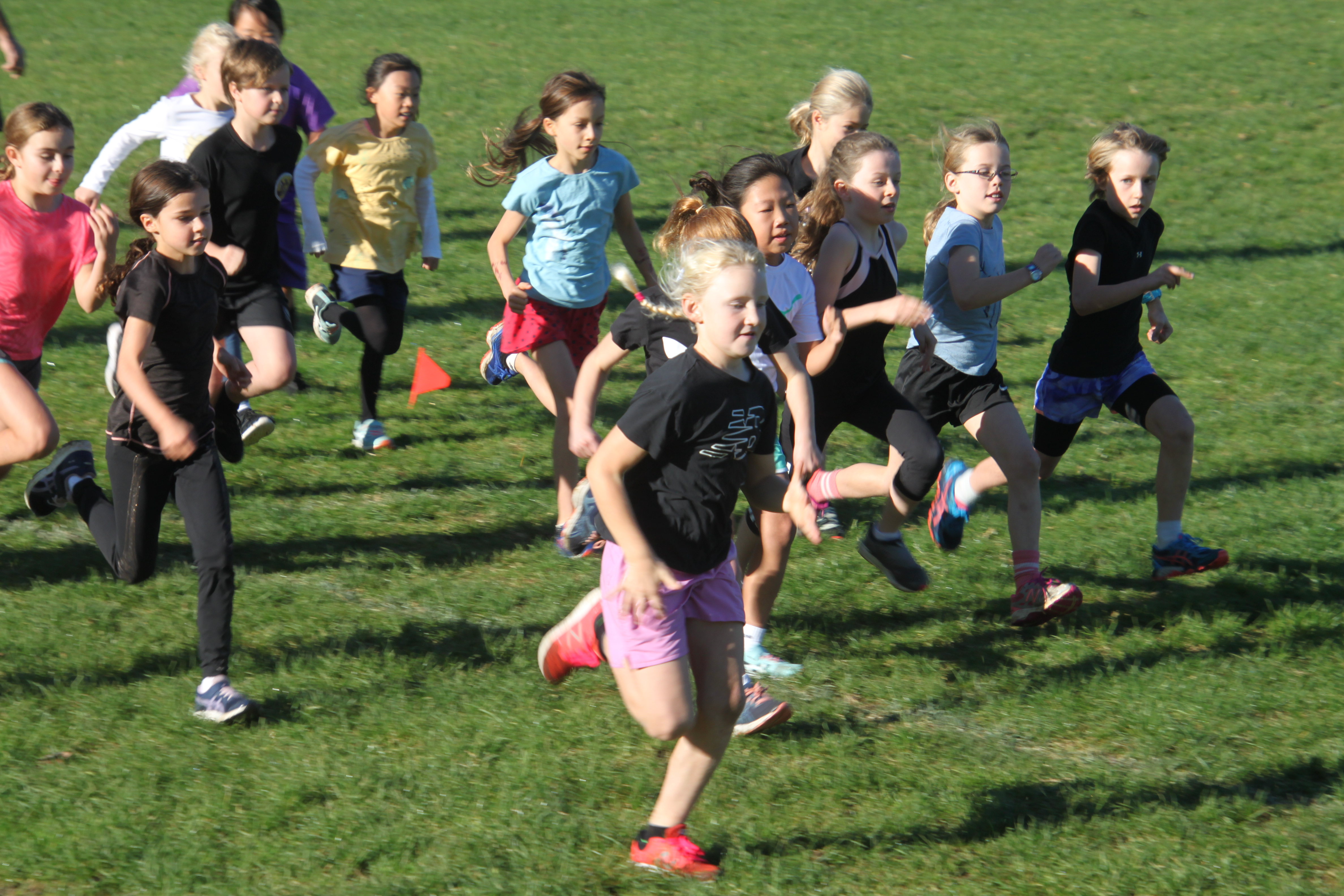 Year 4 Challenge 4 Girls race