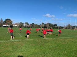 Under 40kg rugby team