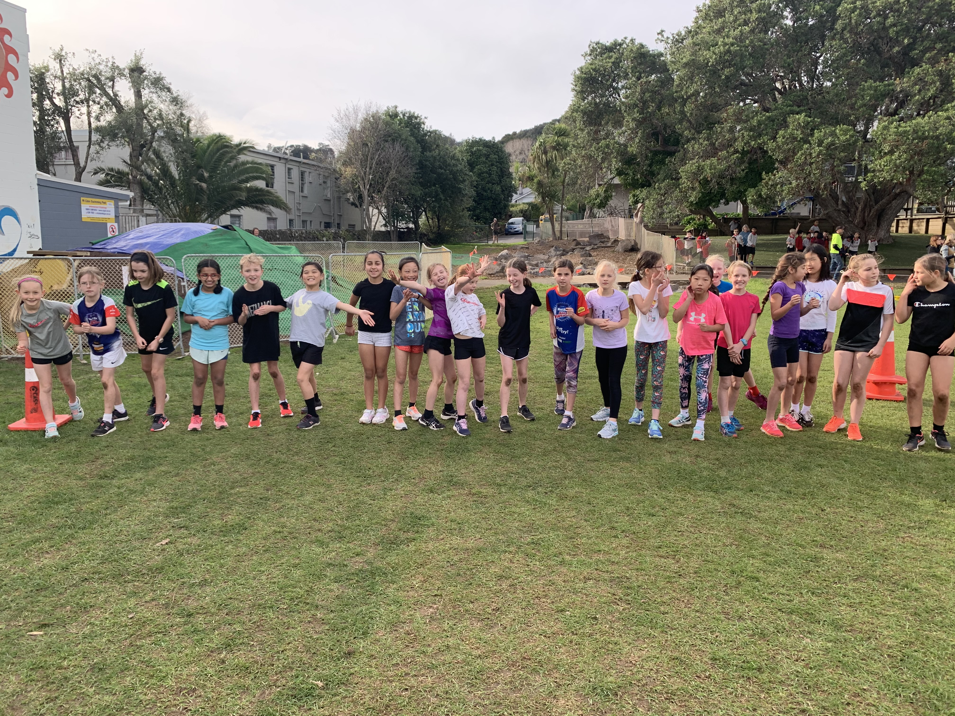 Year 5 Girls Challenge 4 Race