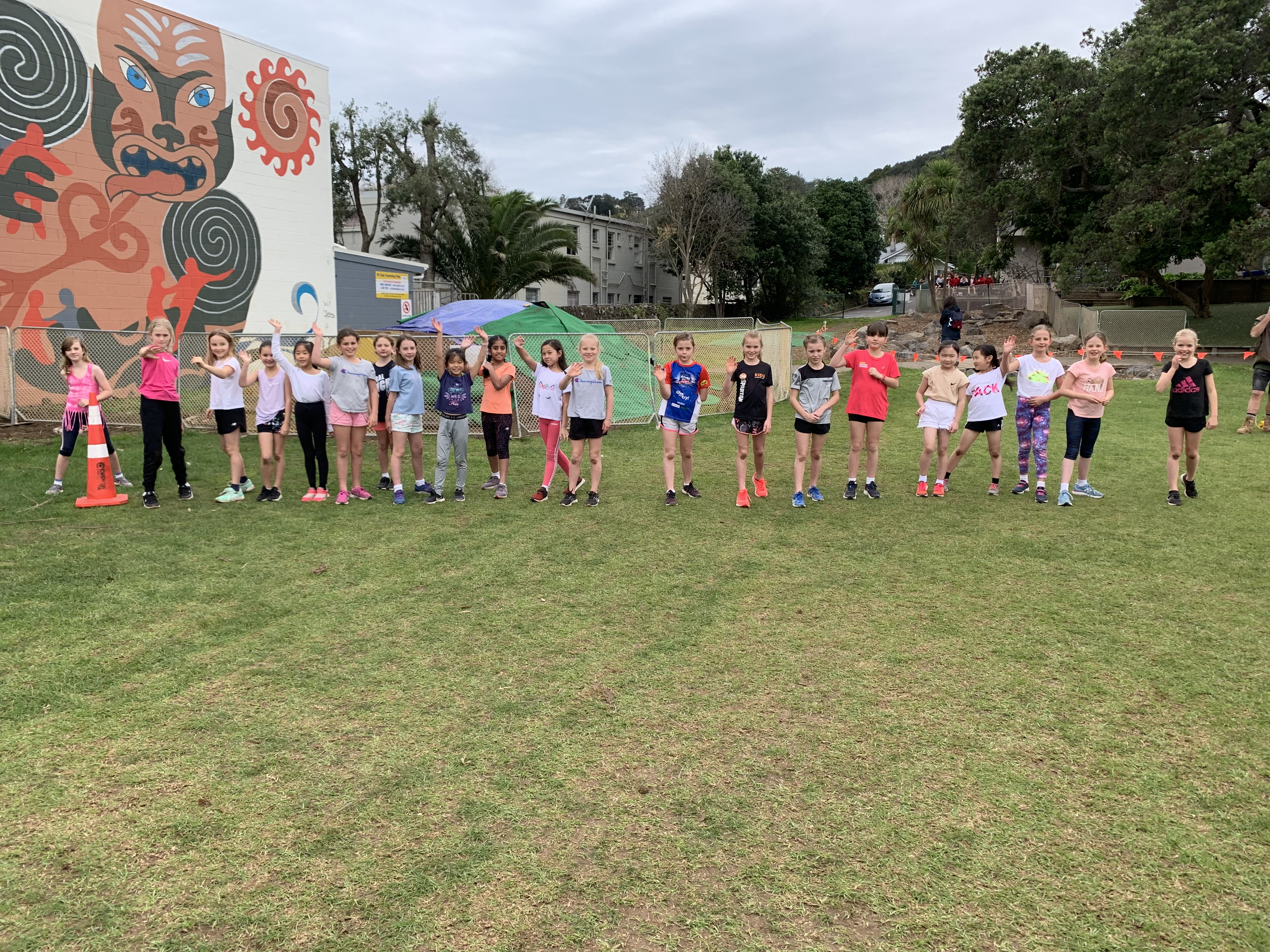 Year 4 Girls Challenge 4 runners