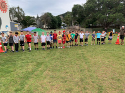 Year 5 Boys Challenge 3 race