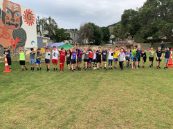 Year 4 Boys Challenge 4 race