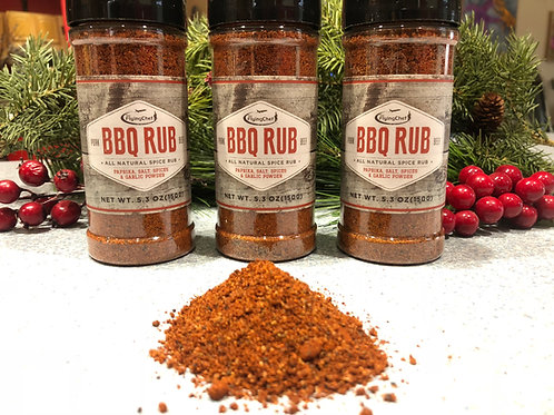BBQ RUB- 3 pack