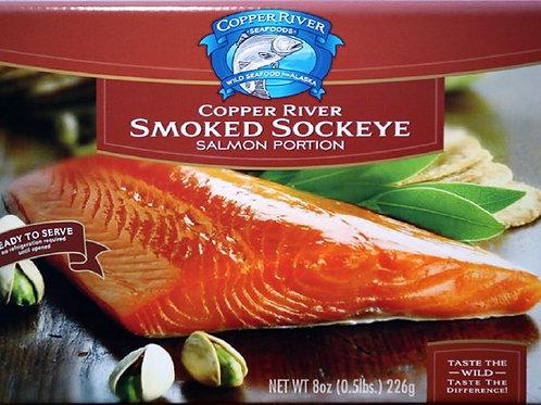 Copper River Smoked Sockeye Salmon, 8oz