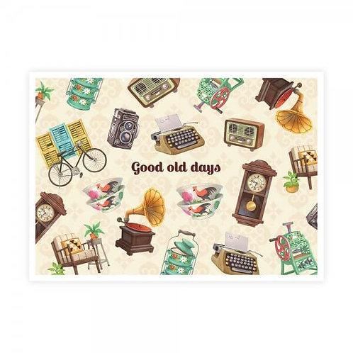 Loka Made   Postcard   MSP55 Good Old Days, Inspiring Days