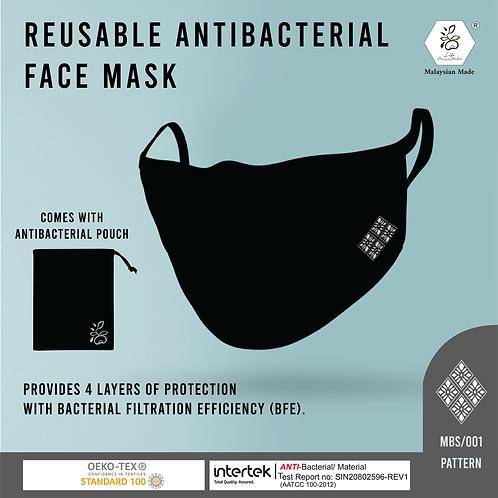 Life Design Studio | Black Antibacterial Face Masks