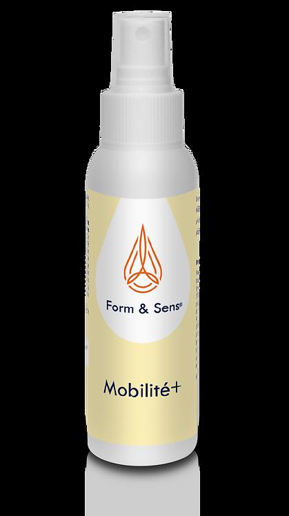 Huile de massage Mobilité + en spray. Idéal pour la récupération des sportifs. Huiles essentielles naturelles et bio.