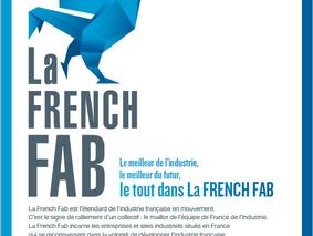 """Fier d'avoir rejoint la communauté """"La French Fab"""""""