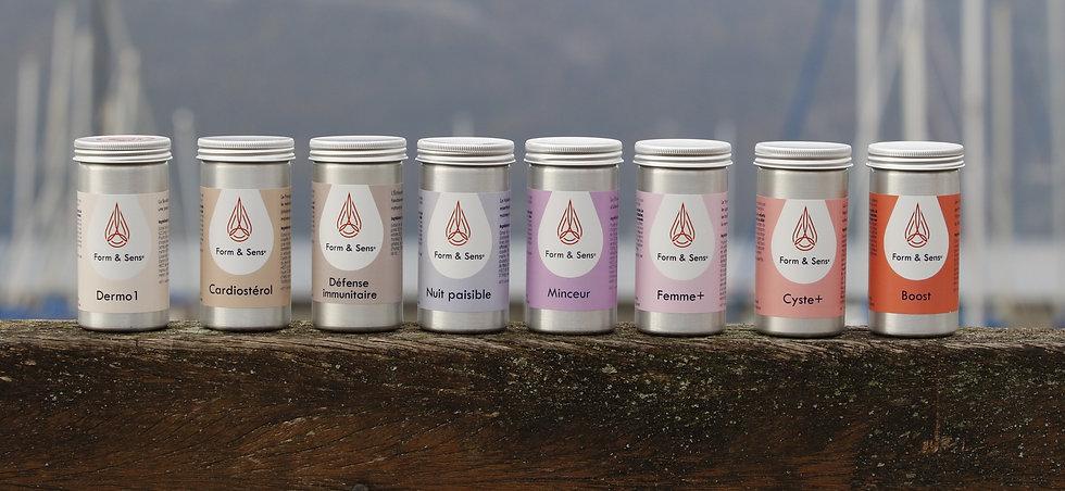 Form & Sens, compléments alimentaires naturels aux huiles essentielles fabriqué en France