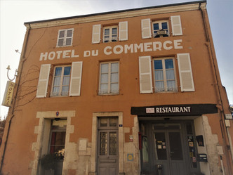 Hôtel du commerce - façade