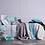 Thumbnail: Comforter Jacquard Turquesa