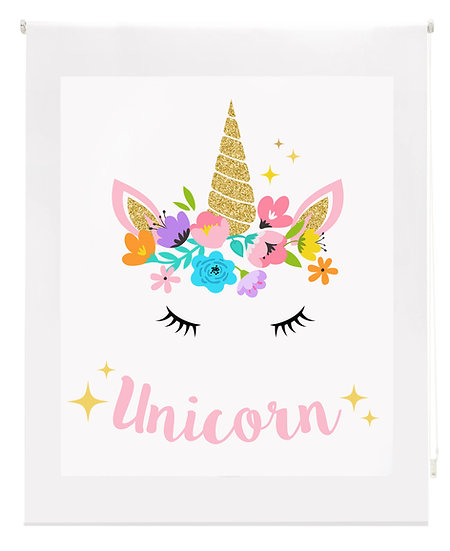 Estor Digital Infantil Unicornio