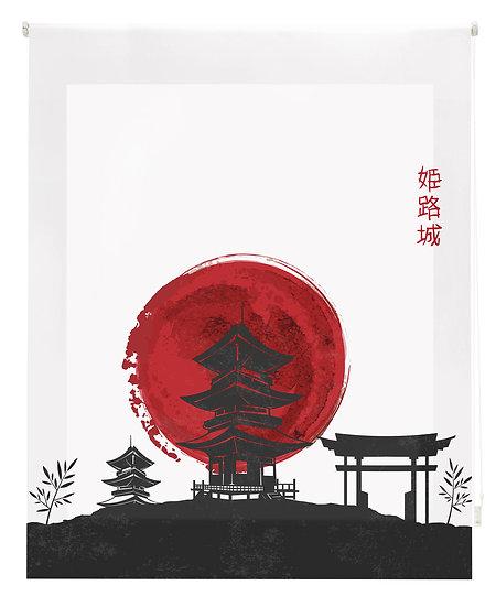 Estor Digital Zen Templo Negro y Rojo
