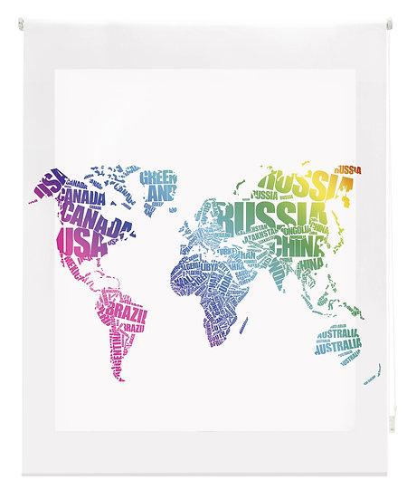 Estor Digital Diseño Mapa Multicolor