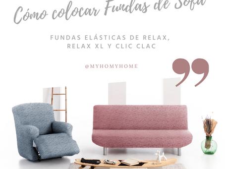 Como colocar Fundas de Sofá Elásticas para Relax, Relax XL y Clic Clac