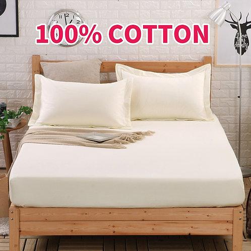 Bajera o funda de almohada OLOEY 100% Algodón - Variedad de colores