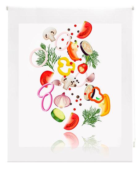 Estor Digital Cocina Verduras Multicolor