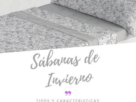 Tipos de sábanas de invierno