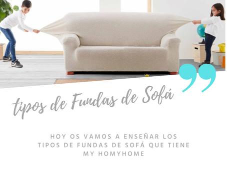 Tipos de fundas de sofá