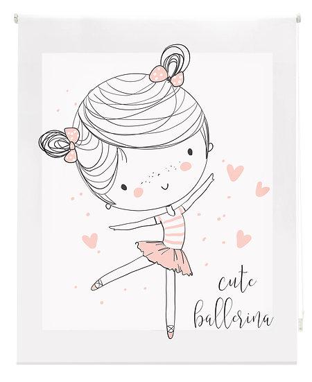 Estor Digital Infantil Bailarina