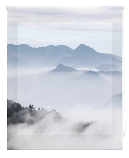 Estor Digital Zen Montañas con Niebla