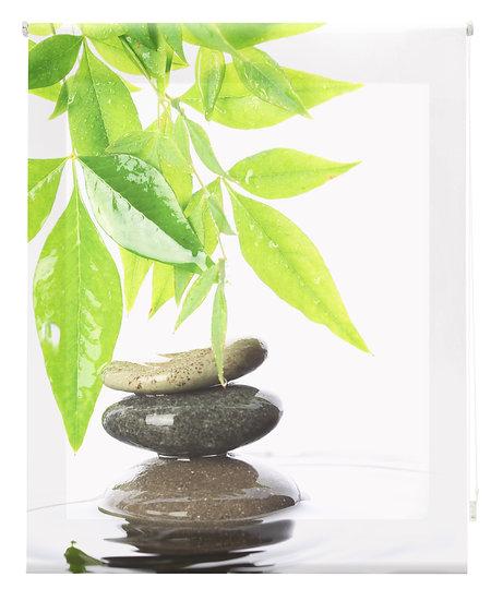 Estor Digital Zen Hojas y Piedras