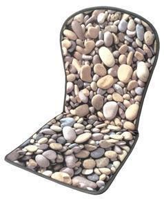 Cojín Monobloc Piedras