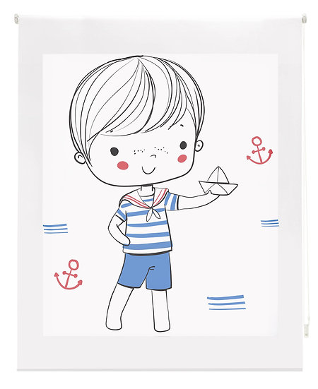 Estor Digital Infantil Marinero