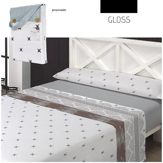 J. Sábanas Gloss - 150 hilos - Nuvola