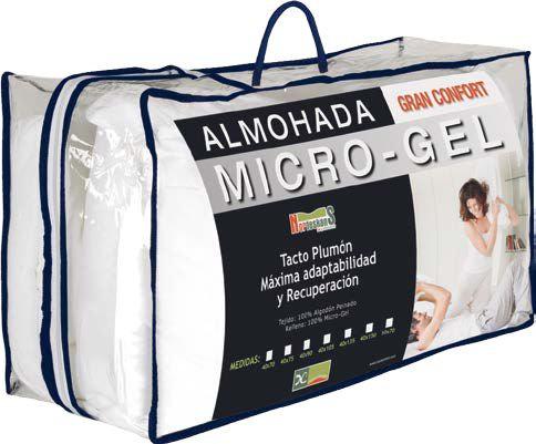 Almohada Micro Gel / Tacto Plumón