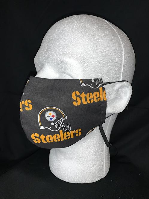 Pittsburgh Steelers logo mask