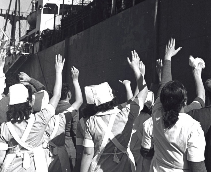 """אניית התינוקות, כ""""ט בנובמבר 1947"""