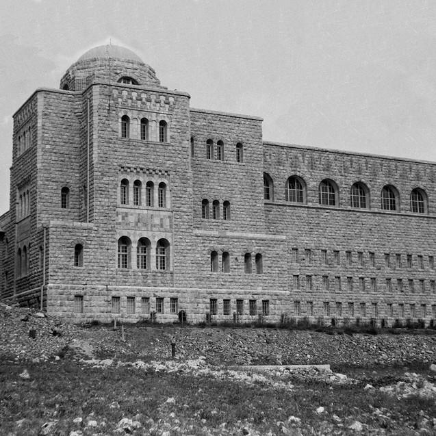 בית הספרים הלאומי והאוניברסיטאי בהר הצופ