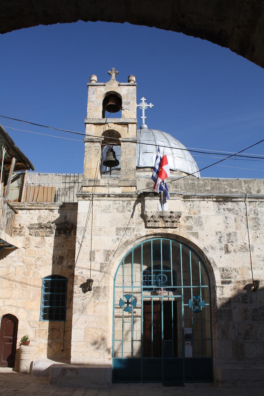 כנסיית יוחנן המבשר בלב העיר העתיקה