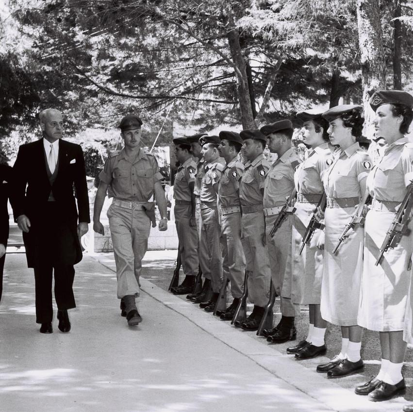 שגריר אורוגווי בביקור ראשון בישראל