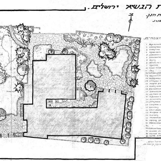 תכנית גן בית הנשיא
