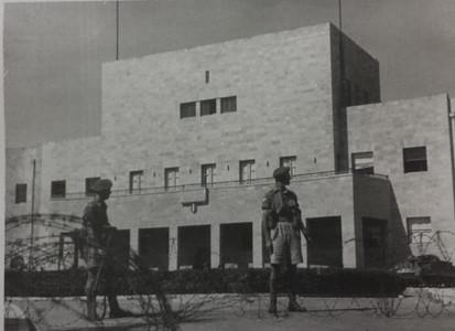 חיילים בריטיים במוסדות הלאומיים, צילום: ארכיון ההגנה