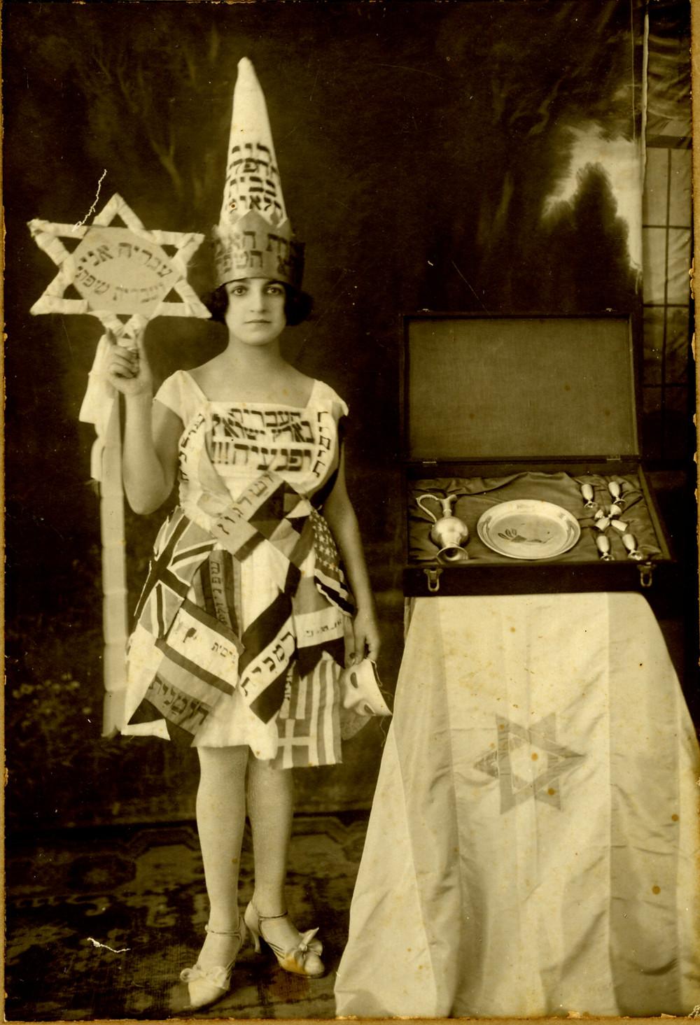 פולה גוטליב, צילום מאוסף מאירה הניס, תל אביב נגלית לעין