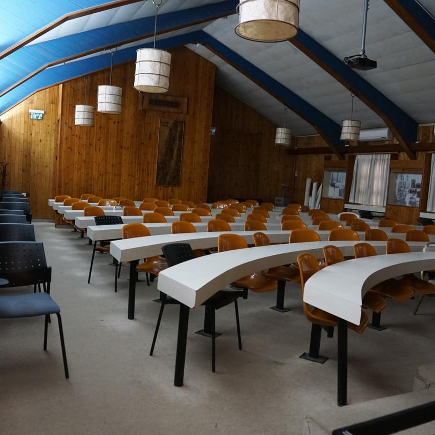 האולם הקטן בצריף הנשיא