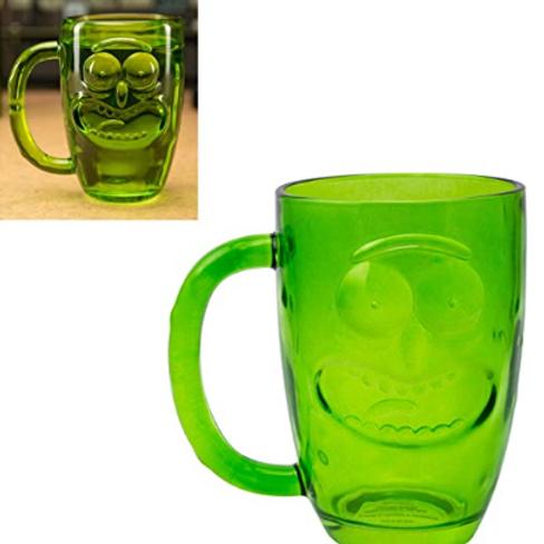 Paladone Pickle Rick Beer Pint Glass Rick & Morty Novelty Item