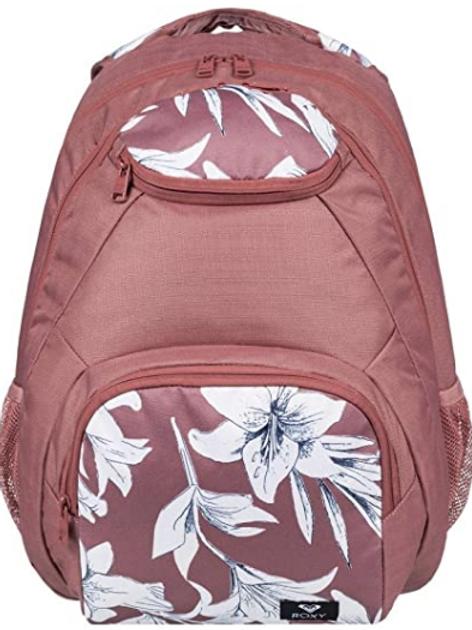Roxy Shadow Swell Mix School Bag, Pink