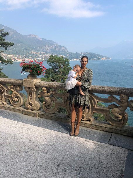 Lake Como with a 2 year old