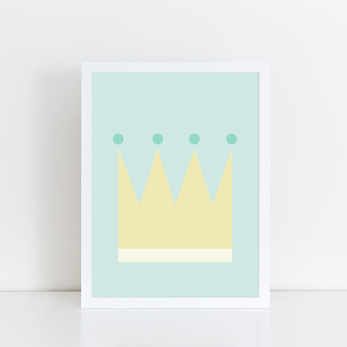 """Poster """"The Crown"""" from Dahlia KIDS"""