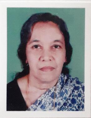 Kannur Thrichambaram UP School Rita: Teacher CV Padmini (81) passed away yesterday (8-9-20)
