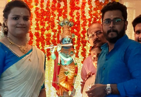 Anusree got engaged to  Abhijith Congratulations and best wishes: warriers.org