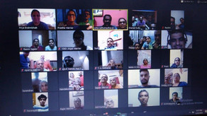 Thrippekulathu Thekke Variam (Irinjalakuda) conducted their online-virtual kudumbayogam on Saturday,