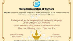 Inauguration Of Membership Campaign